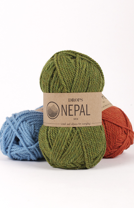 Drops Nepal (vilna, alpaka)